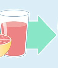 Grapefruit juice can affect how well some medicines work, and it may cause dangerous side effects. This food and drug interaction can be a concern, according to the U.S. Food and Drug Administration.