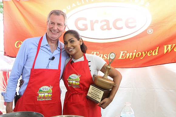 The seventh annual Grace Jamaican Jerk Festival welcomed more than 15,000 guests Sunday, July 23.