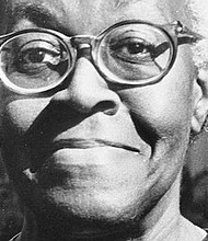 Poet Gwendolyn Brooks lived in Chicago's Ivy Park Homes, formerly known as the Princeton Park housing project, when she won the Pulitzer Prize in 1950. (Erick Johnson/Chicago Crusader)