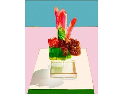 Artist-cum-confectioner Maayan Zilberman has long used sugar and sugar-like alternatives as materials. Her latest series, a group of iridescent, crystalline ...