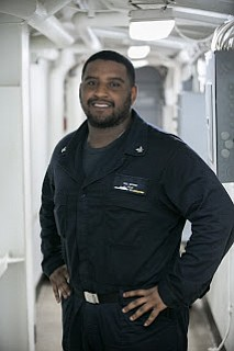 A 2013 Summer Creek High School graduate and Houston native is serving in Japan in the U.S. Navy aboard USS ...