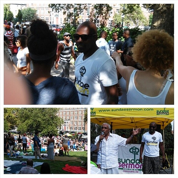 "One of Harlem's favorite summertime events ""Sundae Sermon"" returns this Sunday, Aug. 13."