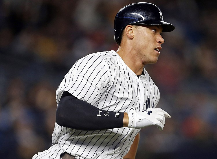 Yankees' Montgomery OK after hit in head at batting practice