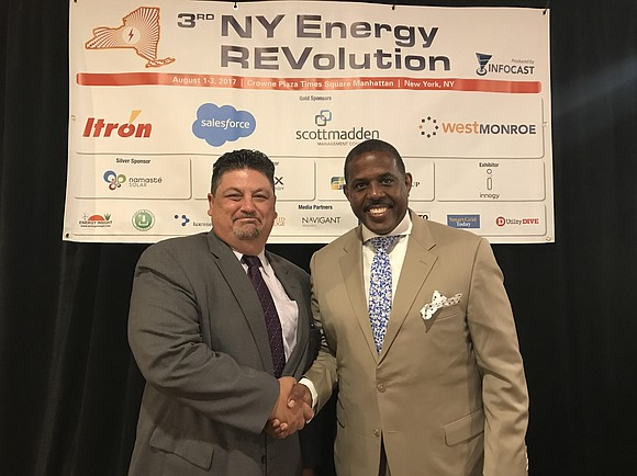 Wednesday, Aug. 2, State Sen. Kevin Parker delivered the keynote address at the third Annual New York Energy Revolution Summit.