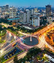 The vibrant city of Jakarta in Indonesia is Instagram stories' most popular location.
