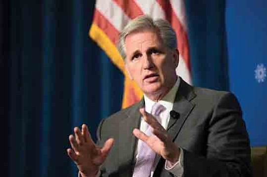 House Majority leader Kevin McCarthy (CA-23) sent a letter to Federal government leaders, signed by Republican and Democrat members of ...