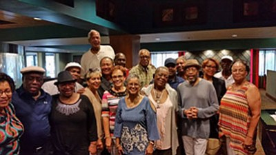 "Edmonson High School Class of '63 enjoyed themselves and each others company at their monthly ""Meet & Greet,"" which is held on the first Friday of each month from 4 p.m to 7 p.m. the Double Tree by Hilton in Pikesville."