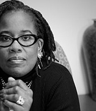 """Dr. Karsonya Whitehead, associate professor, Communications and African, and African-American Studies, Loyola University Maryland. Dr. Whitehead is the Author of """"Letters to My Black Sons: Raising Boys in a Post Racial America."""""""