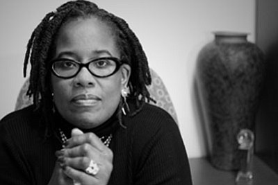 "Dr. Karsonya Whitehead, associate professor, Communications and African, and African-American Studies, Loyola University Maryland. Dr. Whitehead is the Author of ""Letters to My Black Sons: Raising Boys in a Post Racial America."""