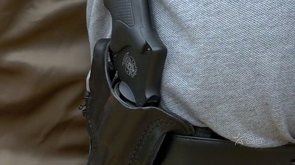Across the state on Tuesday, students are allowed to carry concealed handguns on Texas community colleges if they have a ...