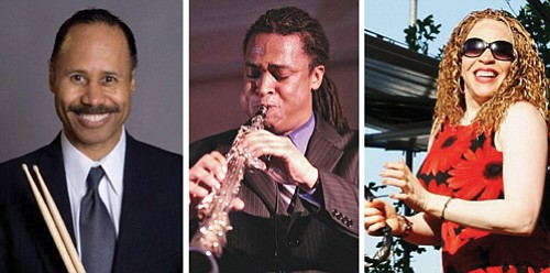 Ron Steen, Devin Phillips and LaRhonda Steele are part of a great musical lineup of musicians to play for the first Albina Jazz Festival.