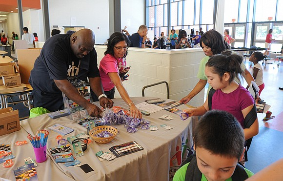 Two Richmond area churches are planning back-to-school rallies that will include distribution of free school supplies. • First Union Baptist ...