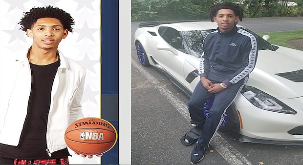 (Left) - Cameron Payne (Courtesy photo); (Right) - As former Lausanne Collegiate School star Cameron Payne continues his NBA ride with the Chicago Bulls, he is staying focused on giving back. (Photo: Kelvin Cowans)