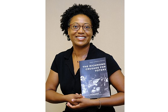 Kimberly A. Matthews was surprised that no one had ever written a history of the Richmond Crusade for Voters, the ...