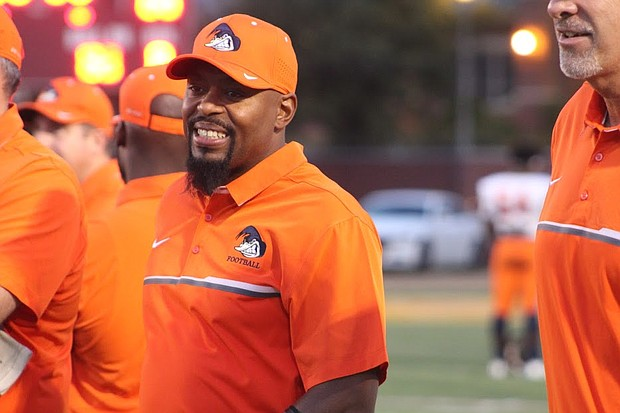 Ridgeway will move up to 5A this season and head coach Duron Sutton says tough games scheduled before district play will be measuring-rod games they will play to win.
