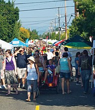 A mix of entertainment, vendors, food and drink draws crowds to the annual Alberta Street Fair. The 20th annual event will be held Saturday, Aug. 12 on Northeast Alberta between 11th and 30th Avenues.