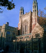 The Trump administration is preparing to investigate whether Asian Americans are treated unfairly as a result of admissions policies intended to boost the chances of other racial minorities. That inquiry should also look at colleges' other major affirmative action effort — lower admission standards for applicants whose parents are alumni or major donors.  Pictured is Yale Law School. - Wikipedia Photo