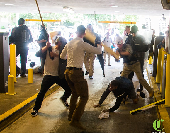 In an incident captured on video and widely shared online, a black man was beaten by several white attackers in ...