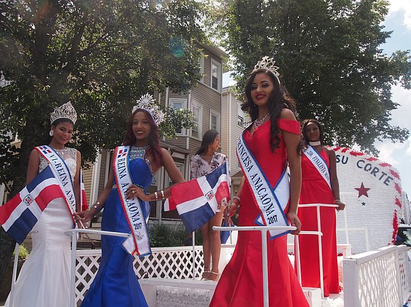 From Hyde Square to Franklin Park, thousands of lined the parade route of the Dominican Festival parade Sunday morning as ...