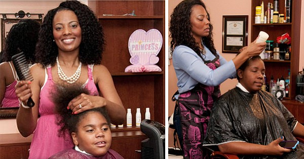Formerly Homeless Hair Salon Owner Gives Free Makeovers To