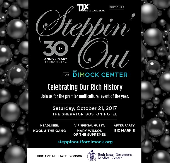Dimock Community Health Center's Annual Steppin Out Gala is the hottest event of the fall.