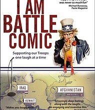 """The poster for """"I Am Battle Comic."""""""