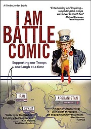 "The poster for ""I Am Battle Comic."""