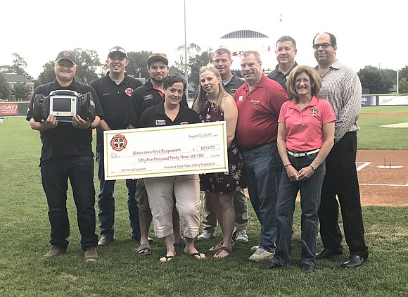 Following a successful first year, Firehouse Subs has again teamed up with the Joliet Slammers to raise money for local ...