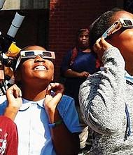 A rare glimpse of a total solar eclipse happens next Monday.