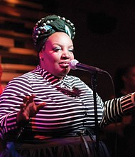 """Saeeda 'MamaSae' Wright will join the musical lineup for the free SEI community """"homecoming"""" celebration, Saturday, Aug. 19 at Unthank Park, 3920 N. Kerby Ave."""