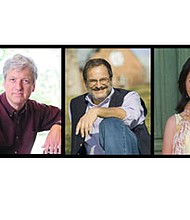 """Pianist Brian Ganz and poets Michael S. Glaser and Deanna Nikaido will offer a program """"Dancing on the Fragile Edge of the World"""" for reflection and renewal on Friday, September 1, 2017 at 8 p.m. at the Unitarian Universalist Church of Annapolis located at 333 Dubois Road in Annapolis. Tickets are $15 at the door. For more information, visit: www.tinyurl.com/UUCA-concerts or call 410-266-8044."""