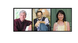 "Pianist Brian Ganz and poets Michael S. Glaser and Deanna Nikaido will offer a program ""Dancing on the Fragile Edge of the World"" for reflection and renewal on Friday, September 1, 2017 at 8 p.m. at the Unitarian Universalist Church of Annapolis located at 333 Dubois Road in Annapolis. Tickets are $15 at the door. For more information, visit: www.tinyurl.com/UUCA-concerts or call 410-266-8044."