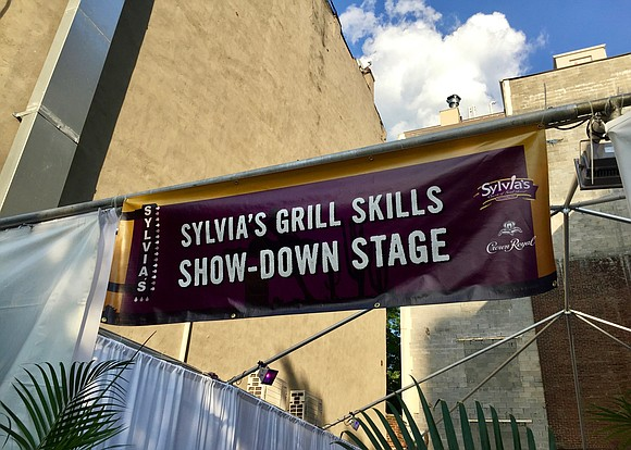 There is a new grill champion in Harlem! They are lean, mean grilling machines at the first Sylvia's Grill Skills ...
