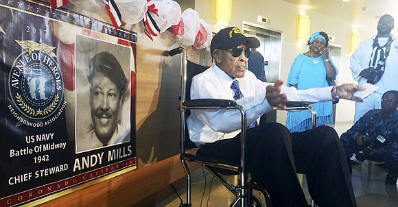 The Navy recognized a 102-year-old World War II veteran last Thursday by inaugurating a new barracks in his name, a ...