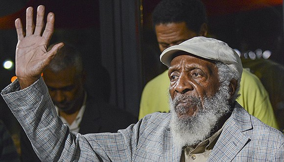 Legendary civil rights activist and comedian Dick Gregory died on Saturday. He was 84.