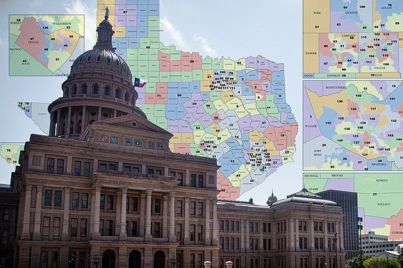 Federal judges invalidated two Texas congressional districts Tuesday, ruling that they must be fixed by either the Legislature or a ...