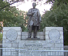 Dr. J. Marion Sims statue in Central Park