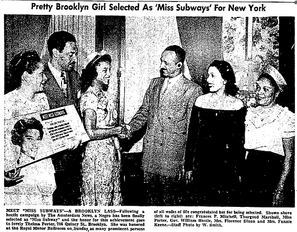 From 1941 until the late 1970s, more than 200 women wore the crown of Miss Subways.