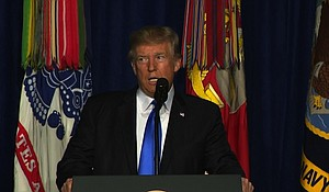 President Trump reveals his plans for the US strategy in Afghanistan