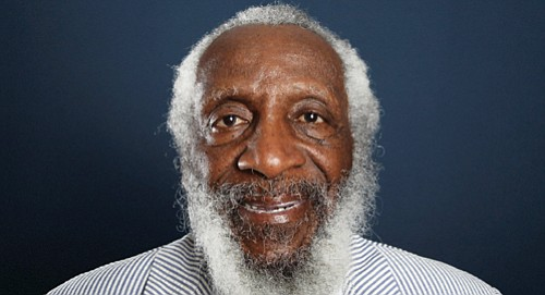 Dick Gregory, the comedian and activist and who broke racial barriers in the 1960s and used his humor to spread ...