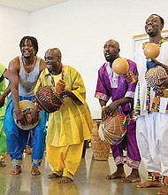 "Performers from Ghana comprise the Portland performing group, Okropong. Part of the Obo Addy Legacy Project, they will perform during a free presentation, ""The Legacy of Obo Addy and His Impact in the Pacific Northwest,"" on Monday, Aug. 28 at 7 p.m. at McMenamins Kennedy School."