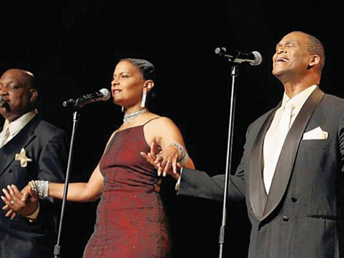 "Don't miss Elmer Armstrong and his tribute band to ""The Platters"" coming to St. Ignatius School in southeast Portland for ..."