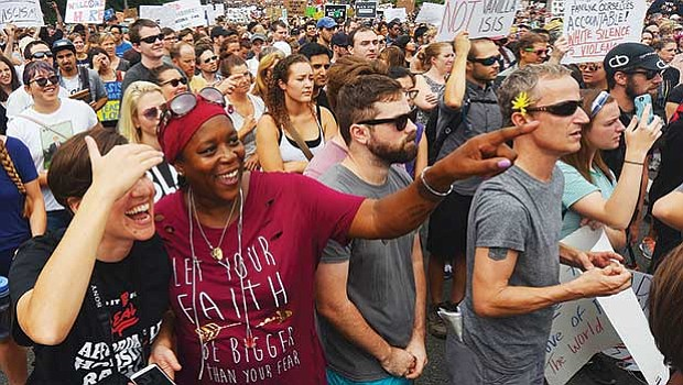 The Fight Supremacy march was organized as a response to the events of Charlottesville and to a so-called Free Speech rally being held in Boston, whose original list of speakers drew criticism for including those with ties to white nationalism.