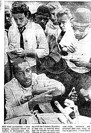 Dick Gregory in 1962
