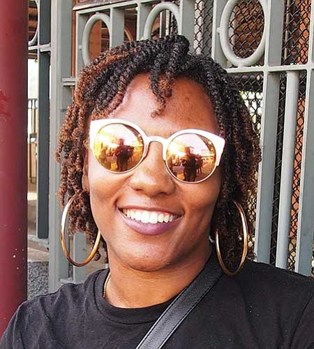 No. I believe we've always been living in a racist society, but more people's eyes are open to what's going on around us. — Kyla S. Scott, Dialysis Technician, Roslindale