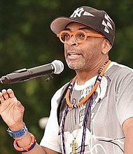 """Filmmaker and President, 40 Acres & A Mule and Morehouse alumnus, Shelton """"Spike"""" Lee '79."""