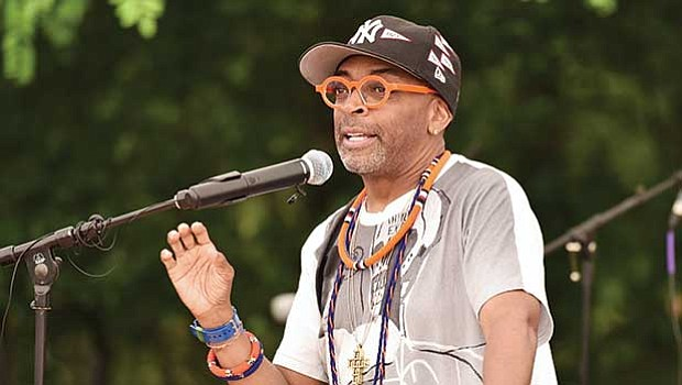 "Filmmaker and President, 40 Acres & A Mule and Morehouse alumnus, Shelton ""Spike"" Lee '79."