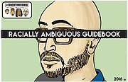 "The cover of LunchTime Comix ""Racially Ambiguous Guidebook."""