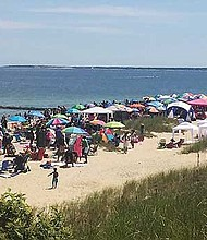 Psi Omega, AKA Beach Party at The pINKWELL