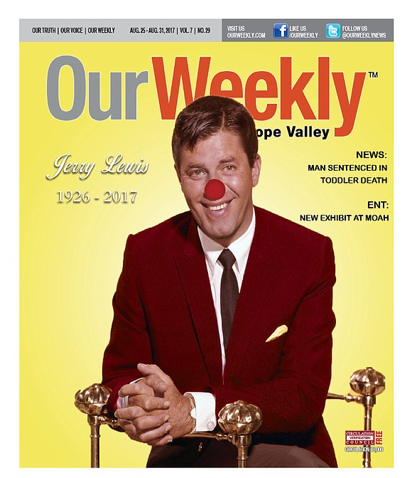 The goofy and unbridled comedic antics of Jerry Lewis entertained the world for 70 years. Last weekend, the internationally acclaimed ...